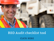 R&D Audit checklist tool