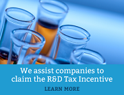 We assist companies to claim the R&D Tax Incentive
