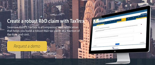 TaxTrex - R&D Tax Claim Software